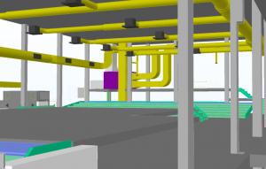 Ateities mokyklos inzineriniu sistemu modelio fragmentas
