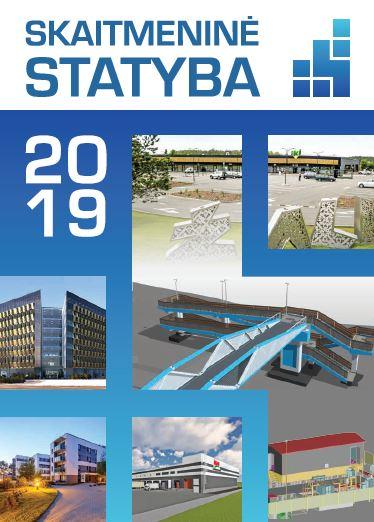 """BIM žinynas """"Skaitmeninė statyba 2019"""""""